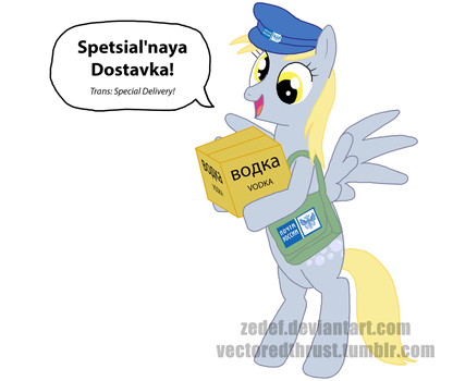 Russian Post Derpy Hooves by VectoredThrust