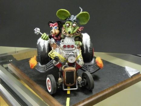 Rat Fink and Friend by RSFluhr
