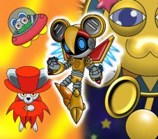 Kirby FC - Living Mouselike Robot, Pulsar by Hexidextrous