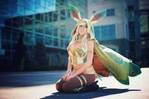 Pokemon - Leafeon -02- by beethy
