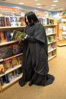 Severus reading by stormymarie