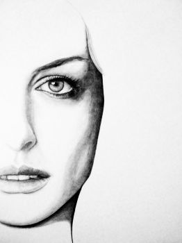 Anne Hathaway WIP by CarmenScholte