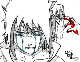 Itachi's Death by Kisameshark14