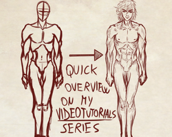 VideoTutorial on How I Draw the Male Front Figure by Dex91