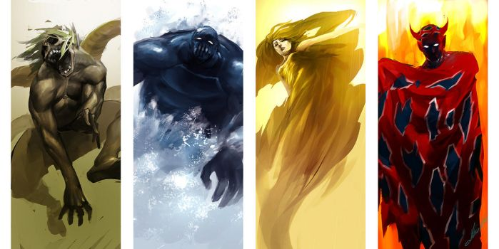 final fantasy 4 lords by tobiee
