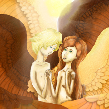 The two Angels by Dycas98