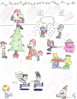 Christmas Party by Nario