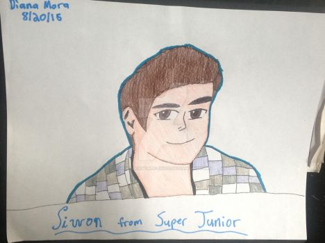Siwon from Super Junior (Gift) by Venturiantale-lions1