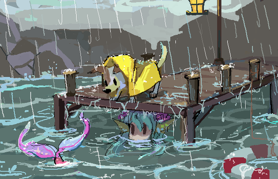 by the sea by RL-3