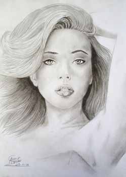 Scarlett Johansson drawing 3 by caiusaugustus