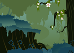 Everfree Forest Background by BreadKing