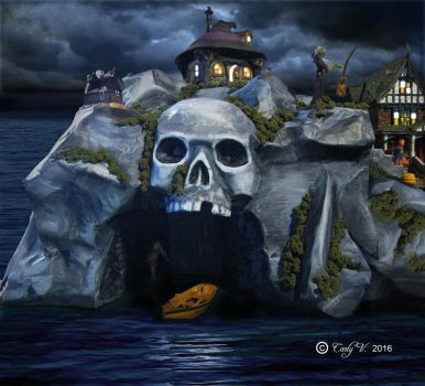 Skull Cove Island by MiniCarly