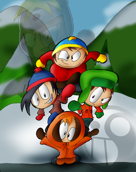South Park by conkerncrash