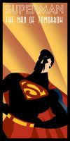 Superman Art Deco by rodolforever