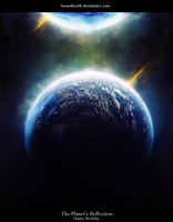 The Planet's Reflection V1 by houndtooth