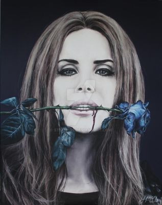 Lana Del Rey. by steph--95