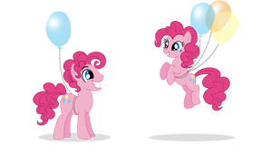 Pinkie Pie and Bubble Berry by xXPudding-CakeXx