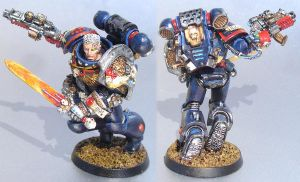 Inquisitor Space Marine by LancerAdvanced