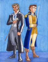 Roommates: Javert and James by AsheRhyder