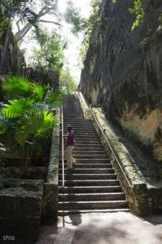 Queens Staircase, Nassau, New Providence by wylf