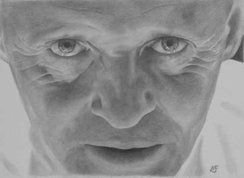 Hannibal Lecter by marcusfearnley
