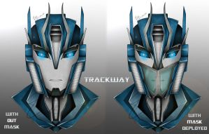 Transformers Prime Trackway by Lady-ElitaOne-Arts