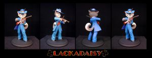 Lackadaisy: Rocky Sculpture by Team4D