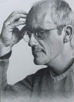 Christopher Lloyd portrait by nikgt