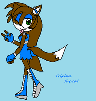 Trixana the cat by shadarialover04