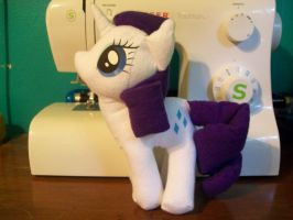 Rarity plush (3) by The-Chaos-Controller