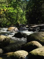 Wallace Creek #2 by KRHPhotography