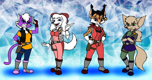 The Star Fox Ladies - Classic Edition by Gathion