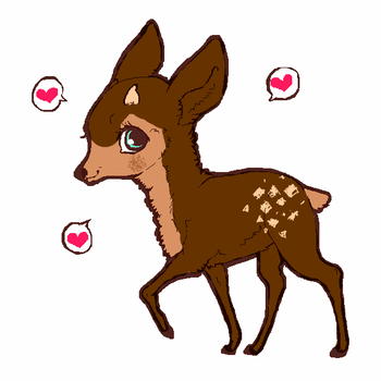 Deer adoptable! by nicole765643663