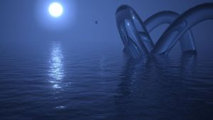 3D Waterscape by FU51ON