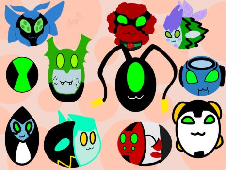 Updated version of my top 10 aliens by foxy21a72