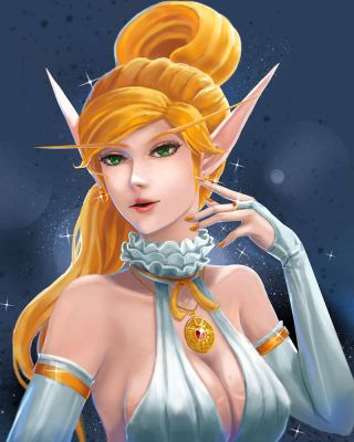 White Elf by X-kulon