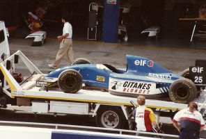 Ligier JS39 (Spain 1993) by F1-history