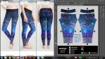 'Ocean, Stars, Sky, and You' - leggings preview by muddymelly