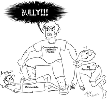 Bully on the Playground by 8manderz8