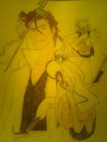 aizen and some espada by Yuki-Ukitake