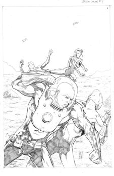 Drago Bentley Issue 7 Cover by Dave-Acosta