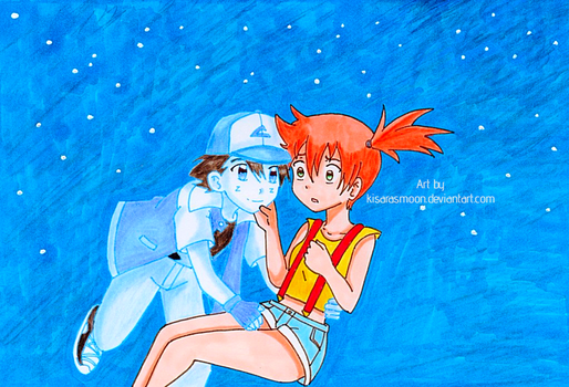 Come for a ride with me Misty! by Kisarasmoon