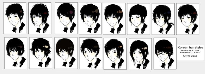 Korean HAIRSTYLES by Quiss