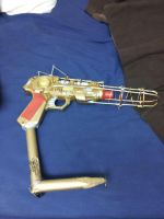 Steampunk pistol by give-me-n-effin-name