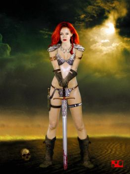 Red Sonja by sonLUC