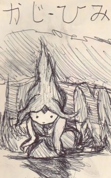 Flame Princess DFS ( Directly From Sketchbook) by Moomochi