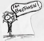 I am Beethoven by MichellePrebich