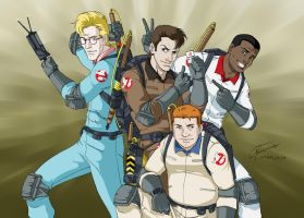 The Real Ghostbusters by Albert217