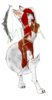 Mea - (Furry / Anthro) by MeaWolfenX