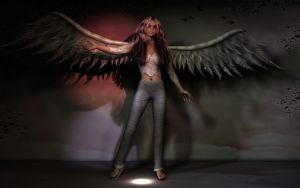 Angel On Broadway by SavageDragon1313